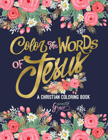 2017.07.24 ITG Color The Word Of Jesus Front Cover